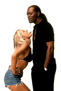 Bridget Fonda & Samuel L. Jackson, in Jackie Brown