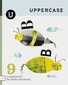 UPPERCASE magazine cover by andrea_daquino, via Flickr