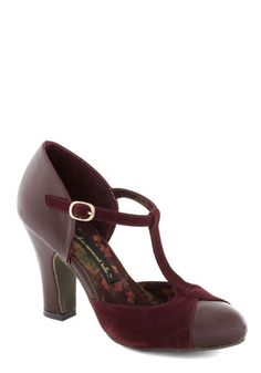 Always looking for a heel I could tolerate wearing all day at work.