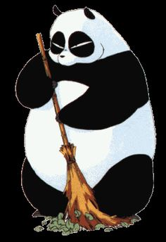 Genma from Ranma 1/2. I wish I had a useful panda.
