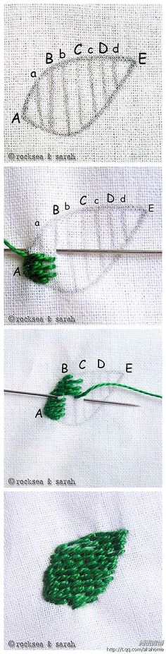 Hand embroidery tutorial / DIY