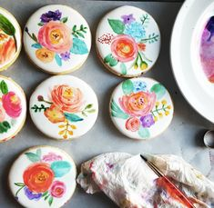 SkillPop is a community-driven way for people to access in-person classes on a variety of subjects. Fancy Cookies, Iced Cookies, Cupcake Cookies, Cupcakes, Cookie Icing, Royal Icing Cookies, Macarons, Flower Sugar Cookies, Paint Cookies