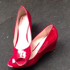 My new cute red shoes :)