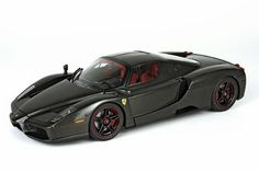 Santas Tools and Toys Workshop: Toy: Ferrari Enzo Carbon Fiber Limited Numbered Edition of 1,011 Pieces Worlwide in 1:18 Scale By BBR