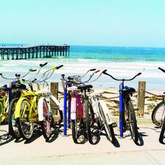 San Diego's Pacific Beach.... Nothing like a long bike ride to the perfect picnic spot