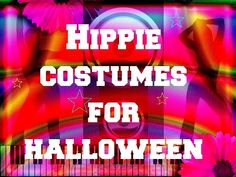 Quick and easy tutorial on how to create a simple diy hippie costume, perfect for music festivals and Halloween fancy dress parties. Halloween Fancy Dress, Halloween Costumes, Hippie Costume, Costume Makeup, Neon Signs, Seasons, Cosmos, Cheer, Holiday