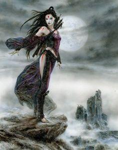 By luis royo. by luis royo dark fantasy art, fantasy girl Fantasy Art Women, Dark Fantasy Art, Fantasy Girl, Fantasy Drawings, Fantasy Artwork, Samurai, Luis Royo, Fantasy Warrior, Gothic Art