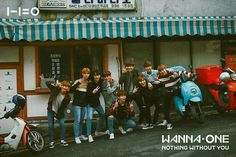 Wanna One 'Beautiful' BTS photo (Movie ver. Cho Chang, Nothing Without You, Polaroid Photos, Ong Seongwoo, Beautiful Posters, My Destiny, Ha Sungwoon, Kim Jaehwan, Kpop