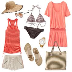 Vacation's in the bag. Outfit your beach destination with everything you need to have fun in the sun.