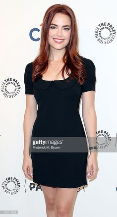 Actress Rebecca Rittenhouse attends The Paley Center for Media's PaleyFest 2014 Fall TV Review - FOX, of the television show 'Red Band Society' at The Paley Center for Media on September 8, 2014 in Beverly Hills, California.