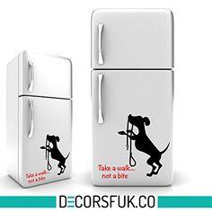 Take a walk - dog Fridge sticker black self adhesive viny... https://www.amazon.co.uk/dp/B0143DPLC6/ref=cm_sw_r_pi_dp_x_fc9Kyb3WE2NKS
