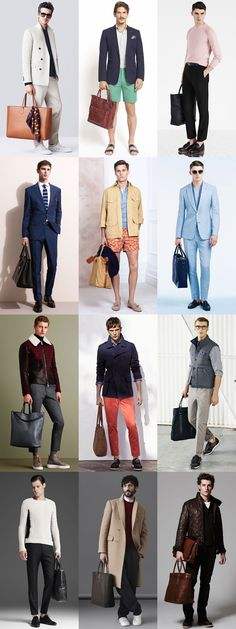 5 Key Men's Bag Styles For 2015: 4. The Tote