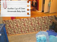 AnotherCupofCheer: Homemade Baby Gate