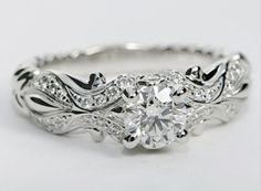 Whimsical Engagement Ring Blue Nile