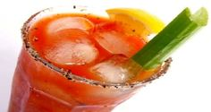 The Ultimate Fully Loaded Bloody Mary Recipe from Serious Eats on FoodPair Best Bloody Mary Recipe, Bloody Mary Mix, Bloody Mary Recipes, Fun Drinks, Yummy Drinks, Beverages, Fruity Drinks, Party Drinks, Alcoholic Drinks
