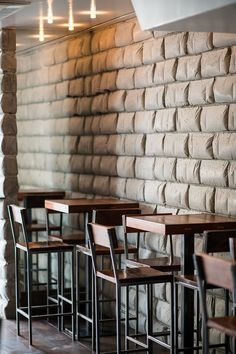 Bar Stools and wall