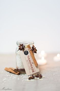 The best gifts are those from the heart and don't take up too much counter space. We love the idea of making a homemade Chocolate Rice Pudding mix for the foodies on your list!