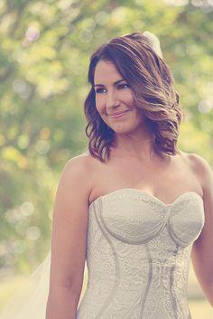 Mel's lovely wedding dress 2013