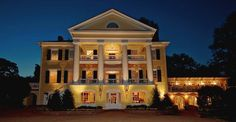 Stunning even at night. The Inn at Willow Grove.