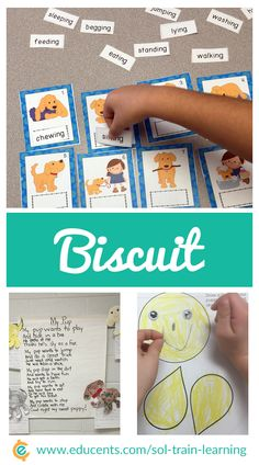 This large ELA unit on Biscuit has over 70 pages of activities. Your kiddos will have so much fun as they learn about Biscuit as well as verbs. There is also a guide on how to use all these Biscuit activities and a cute Biscuit craft.