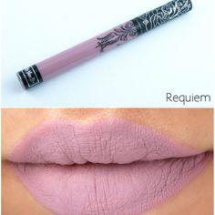 New Kat Von D Everlasting Lipstick Requiem