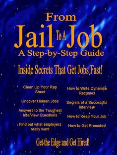This is simply the best job search manual on the market today.  http://jailtojob.com