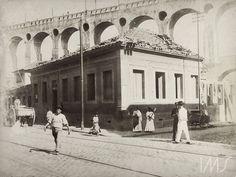 Augusto Malta (Mata Grande, AL 14 de maio de 1864 – Rio de Janeiro, RJ 30 de junho de 1957) | Brasiliana Fotográfica Augusto Malta. Rua dos Arcos, c. 1905. Lapa, Rio de Janeiro / Acervo IMS