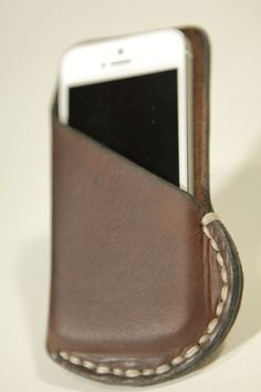 iPhone 5 Leather Case.  By Leon Litinsky (LZZER)