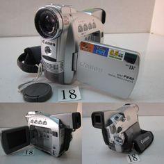 CANON  DM-FV40  ※LCD不良。カセットホルダー破損。 CANON  DM-FV M10  ※ハンドストラップ欠損。レンズ内にカビ。 SHARP  VL-PD3