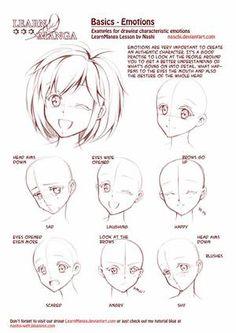 Pour Irisshetland - Quelques images pour apprendre à dessiner en manga