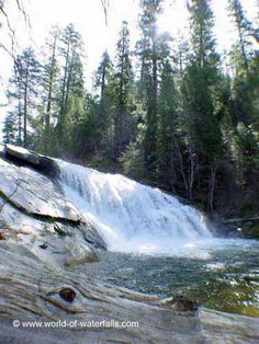 Carlon Falls Yosemite National Park / Stanislaus National Forest free entrance to the park, 6km hike