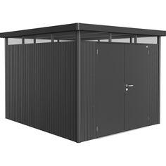 gartenhaus ger teschuppen highline metall biohort. Black Bedroom Furniture Sets. Home Design Ideas