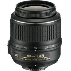Nikon AF-S 18-55mm f/3.5-5.6 G DX VR Lens