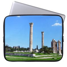 Temple of Olympian Zeus - Athens Computer Sleeves