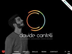 I am web designer, web developer and graphic. I am 25, I live in Bologna - Italy and I love my job.