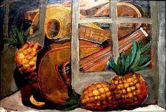 Rufino Tamayo, Mandolines et ananas on ArtStack #rufino-tamayo #art