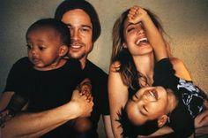 Brad Pitt and Angelina Jolie, photographed by Mario Testino for his book 'Let Me In'.