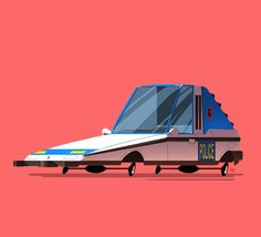 Greatest Rides - pt.1 by Ido Yehimovitz, via Behance