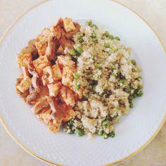 Quinoa com ervilhas e tofu | SAPO Lifestyle