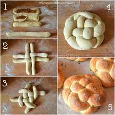 Easy Cake Recipes, Bread Recipes, Baking Recipes, Easter Recipes, Appetizer Recipes, Bread Shaping, Dessert Aux Fruits, Food Carving, Jewish Recipes