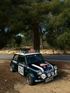 Everyone loves a classic Mini! #Speed #Power #RaceCar #Vintage #Cool