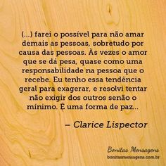 Frase de amor de Clarice Lispector: Lindas frases curtas de amor de Clarice Lispector com imagens Word 3, Note To Self, Good Thoughts, Just Me, Beautiful Words, Flirting, Quotations, Inspirational Quotes, Motivation