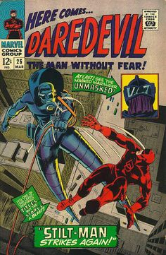 Daredevil # 26 by Gene Colan & Frank Giacoia. When I picture Daredevil in my head. I see Gene Colan art, not Frank Miller (or anyone else).