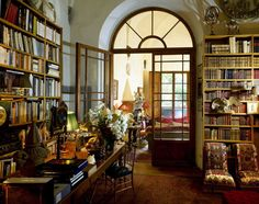 Books and their surroundings