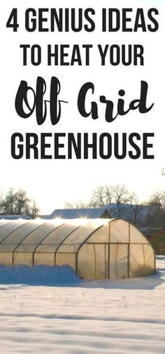 Wondering how to heat a greenhouse in winter? Here's 4 easy but genius ideas… Wondering how to heat a greenhouse in winter? Here's 4 easy but genius ideas to heat a greenhouse without electricity! You can even heat a greenhouse with compost! Winter Greenhouse, Outdoor Greenhouse, Small Greenhouse, Greenhouse Gardening, Hydroponic Gardening, Organic Gardening, Greenhouse Ideas, Greenhouse Wedding, Greenhouse Growing