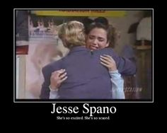 Jessie Spano. She's so excited. She's so scared.