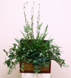 pictures of flowers arrangements | greenery 1