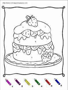 COLORIAGES MAGIQUES CHARLOTTE AUX FRAISES Embroidery Patterns, Snoopy, Activities, Math, Kids, Crafts, Fictional Characters, Number, Montessori