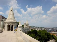 Fisherman's Bastion in Budapest! Click through to read more on my travel blog :)