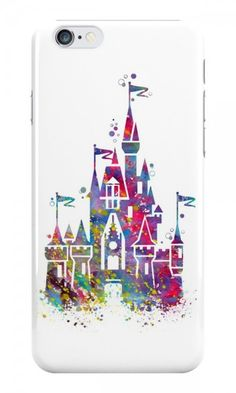 Disney Castle Cell Phone Case for iPhone or Galaxy